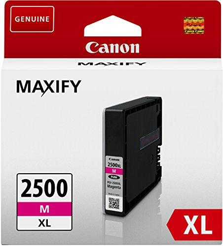 Canon PGI-2500XLM Inkjet Cartridge High Yield 19.3ml Page Life 1295pp Magenta Ref 9266B001AA