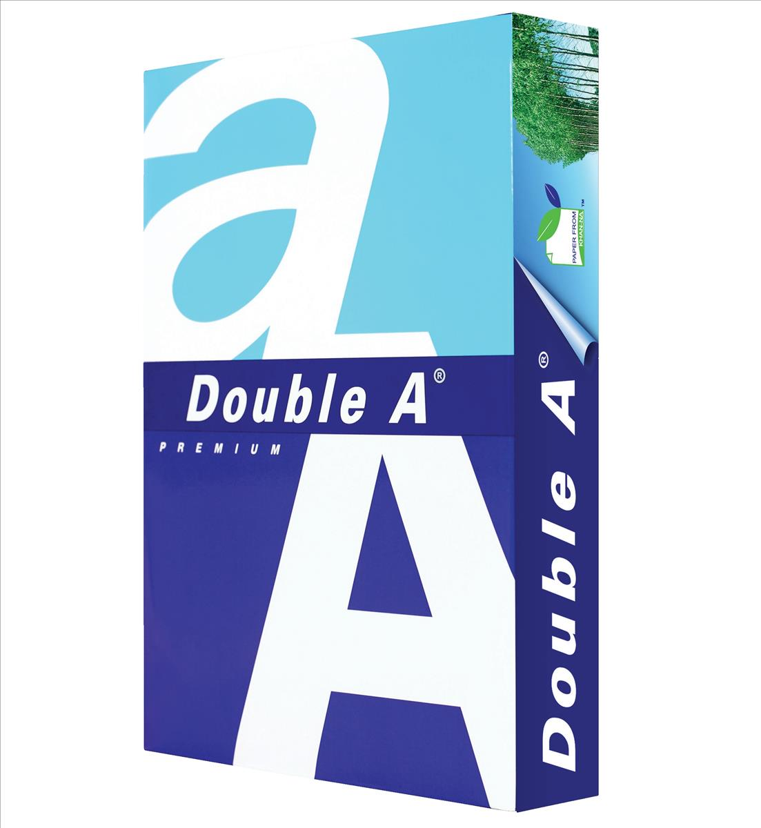 Image for Double A Premium Copier Paper Multifunctional Ream-Wrapped 100gsm A4 White Ref DA100A4 [500 Sheets]