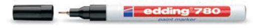 Image for Edding 780 Paint Marker Extra Fine Bullet Tip 0.8mm White Ref 4-780049 [Pack 10]