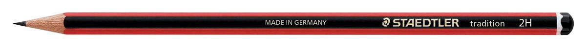 Image for Staedtler 110 Tradition Pencil Cedar Wood 2H Ref 110-2H [Pack 12]