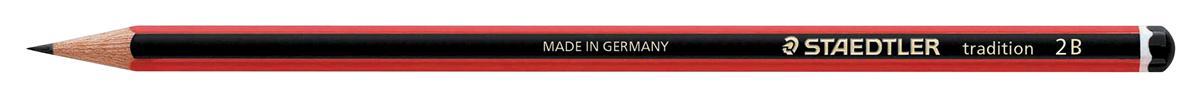 Image for Staedtler 110 Tradition Pencil Cedar Wood 2B Ref 110-2B [Pack 12]