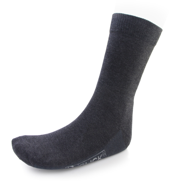Click Workwear Work Sock Grey Cotton/Polyamide/Elastane 9/12 Ref CSK01L [10 Pairs] *Up to 3 Day Leadtime*