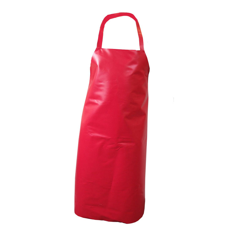 Click Workwear Nyplax Apron 10 Pack Red 48inch X 36inch Ref PNARE48-10 Pack 10 *Up to 3 Day Leadtime*