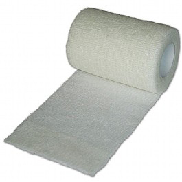 Click Medical Cohesive Bandage Non-slip Water Resistant 6cmx4m White Ref CM0550 *Up to 3 Day Leadtime*