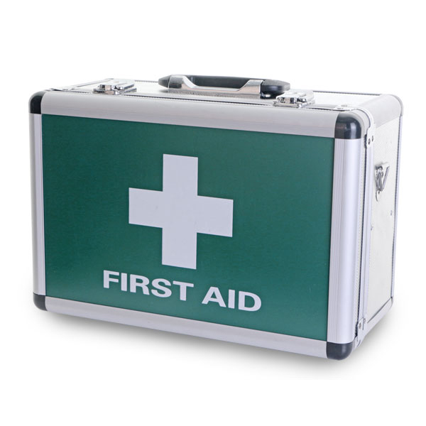 Click Medical First Aid Case Large Aluminium Ref CM1016 *Up to 3 Day Leadtime*