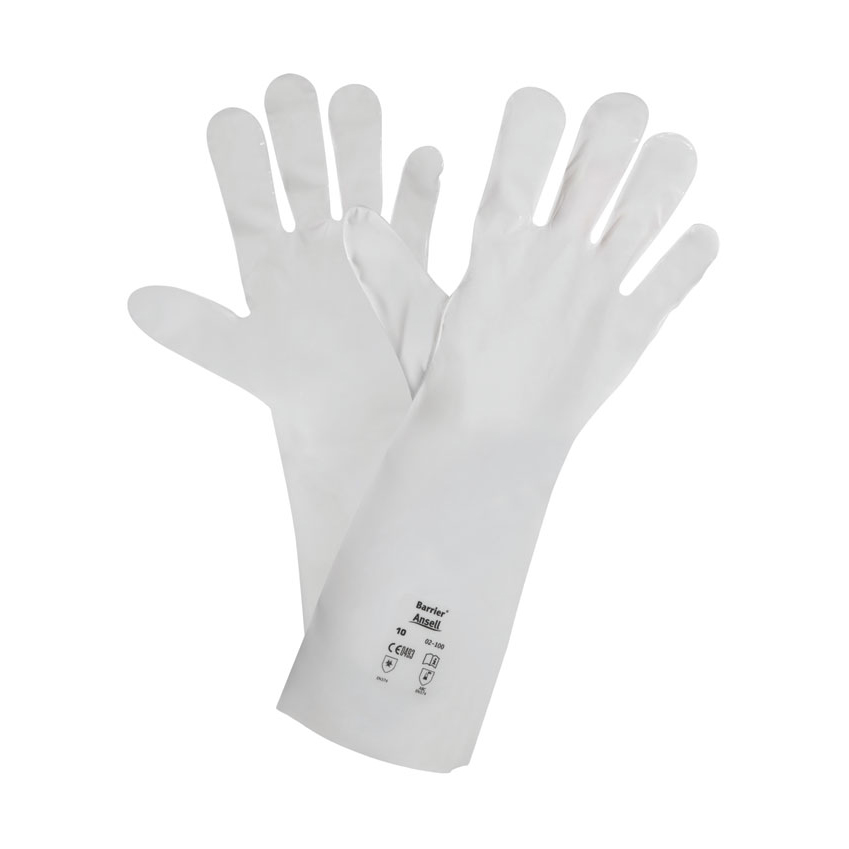 Ansell Barrier 02-100 Glove White Size 8 M Ref AN02-100M *Up to 3 Day Leadtime*