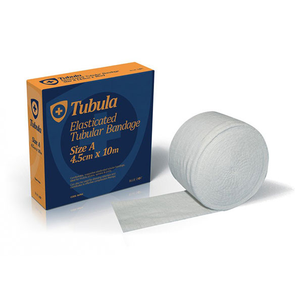 Click Medical Tubular Bandage Cotton/Elastic Size F 4.5cm x 1m White Ref CM0585 *Up to 3 Day Leadtime*