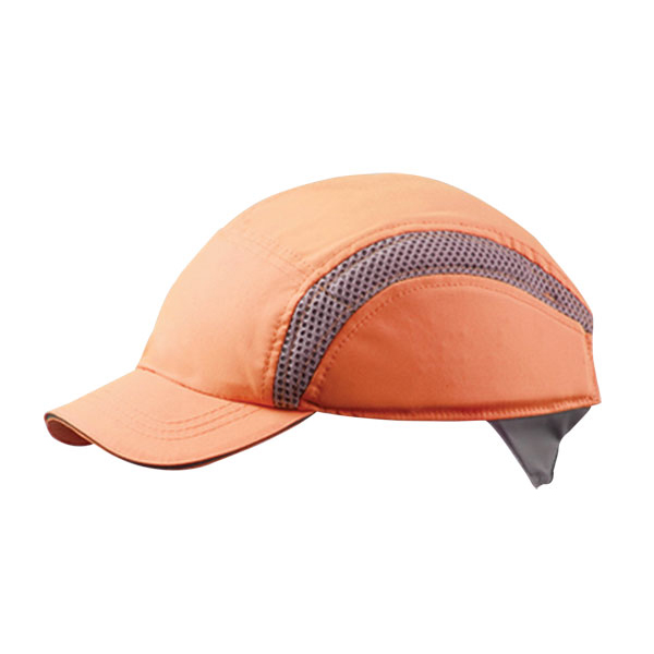 Head Protection Centurion Airpro Baseball Bump Cap Hi-Vis Orange Ref CNS38HVO *Up to 3 Day Leadtime*