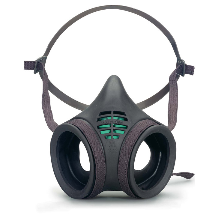 Moldex Mask Body Twin Filter Low Profile Medium Grey Ref M8002 *Up to 3 Day Leadtime*