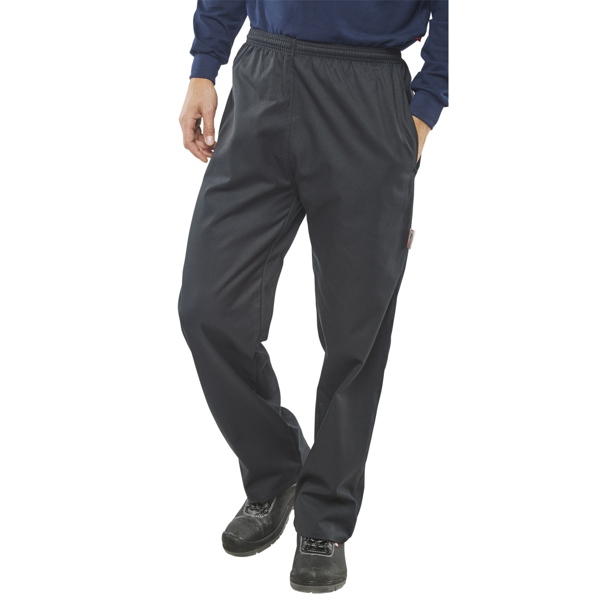 Fire Retardant / Flame Resistant Click Fire Retardant Protex Trousers 2XL Navy Blue Ref CFRPTNXXL *Up to 3 Day Leadtime*