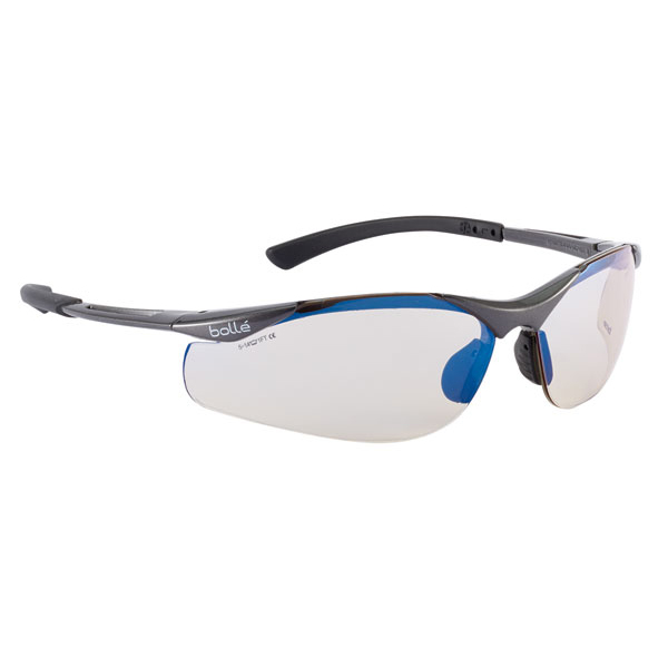 Bolle Contour Platinum Esp Safety Glasses BOCONTESP [Pack 10] Up to 3 Day Leadtime