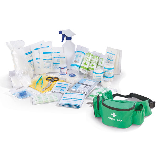 Equipment Click Medical Personal Sports First Aid Kit in Bumbag Ref CM0060 *Up to 3 Day Leadtime*