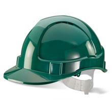 B-Brand Economy Vented Safety Helmet Green Ref BBEVSHG *Up to 3 Day Leadtime*