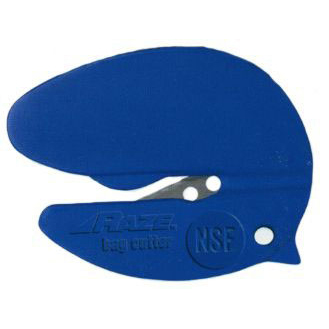 Pacific Handy Cutter Raze NSF Bag Cutter Tape Splitter Blue Ref CBC-346B [Pack 50] *Up to 3 Day Leadtime*