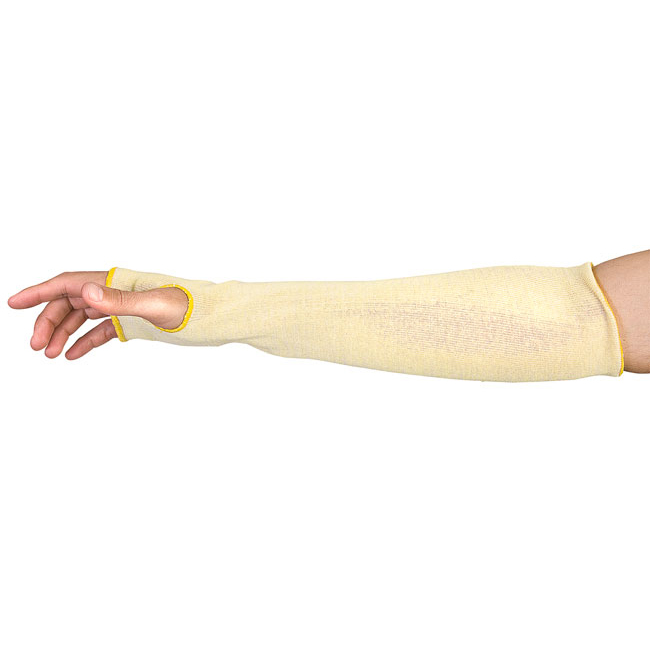 Superior Glove Contender Cut-Resistant Aramid Sleeves 22in L Ref SUEKFGT22THL Up to 3 Day Leadtime