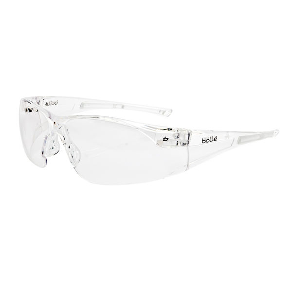 Bolle Rush Safety Glasses Clear Ref BORUSHPSI [Pack 10] Up to 3 Day Leadtime