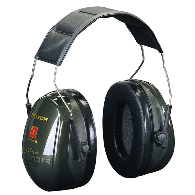 Peltor Optime 2 Headband Ear Defenders 31dB Ref H520A Up to 3 Day Leadtime