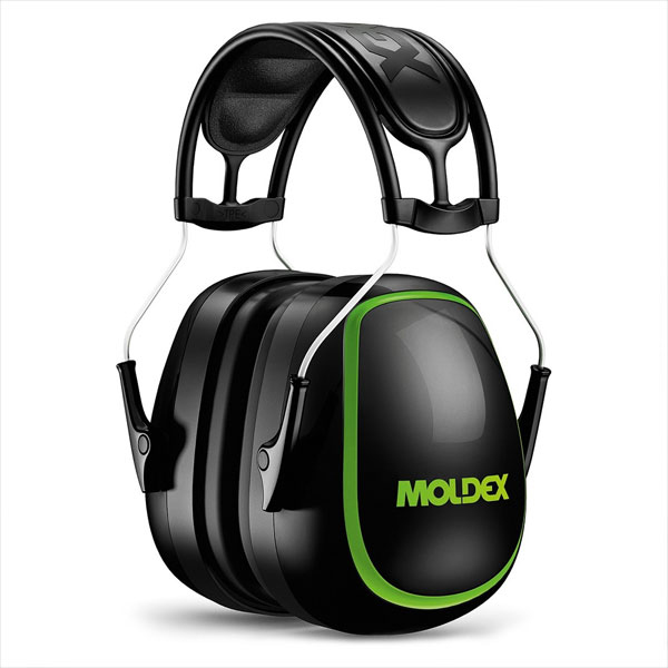 Moldex M6 Ear Muff Black Attenuation 35 dB Ref M6130 Up to 3 Day Leadtime