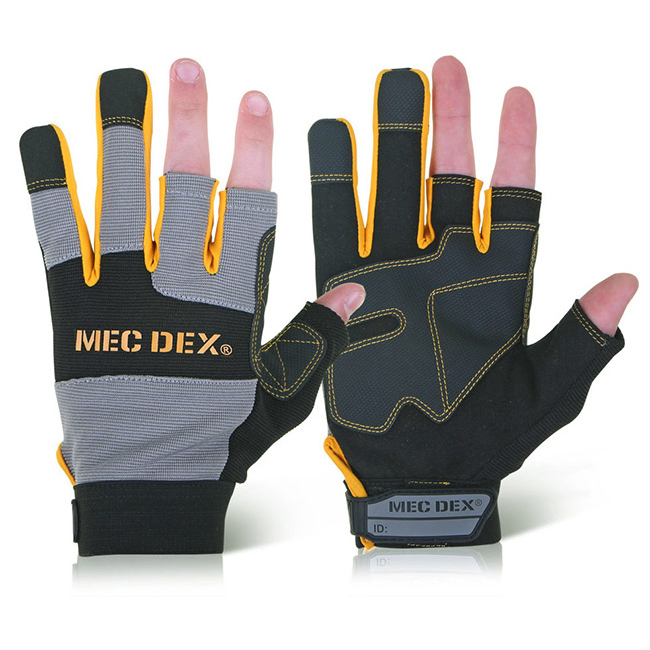 Mecdex Work Passion Tool Mechanics Glove L Ref MECDY-714L Up to 3 Day Leadtime