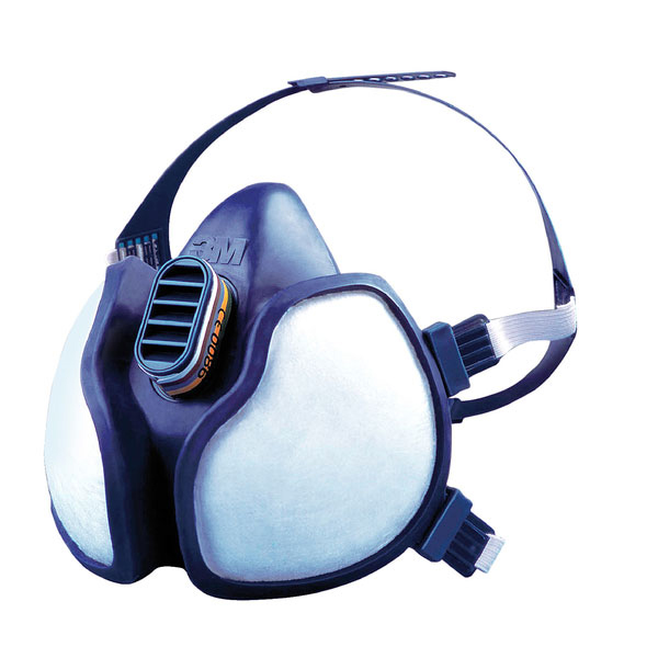 3M Gas/Vapour and Particulate Respirator Maintenance Free Blue Ref 4277 Up to 3 Day Leadtime