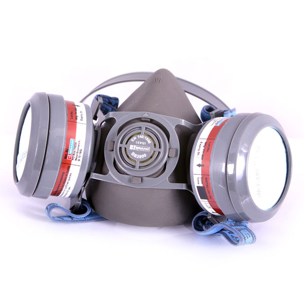 B-Brand A1P2 Pre-assembled Ready Mask Filter Grey Ref BB3020 Up to 3 Day Leadtime