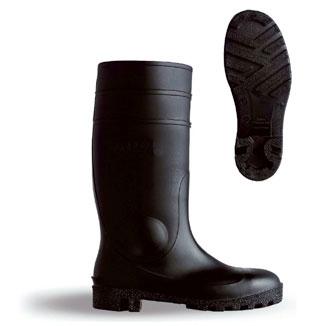 Footwear B-Dri Footwear Budget Wellington Boots Semi Safety PVC Size 3 Black Ref BBSSB03 *Up to 3 Day Leadtime*