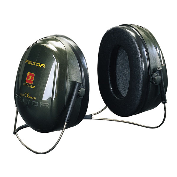 Peltor Optime 2 Ear Defenders Neckband Behind Head Black Ref H520B *Up to 3 Day Leadtime*