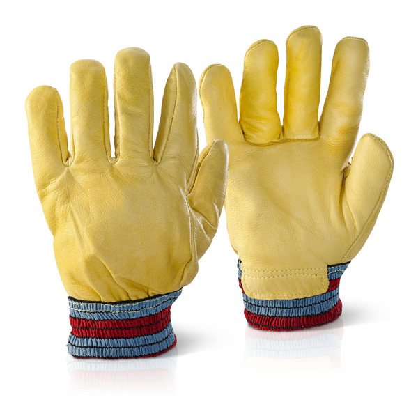Image for Click2000 Freezer Gloves One Piece Back Yellow Ref FGIMP [Pack 10] *Up to 3 Day Leadtime*