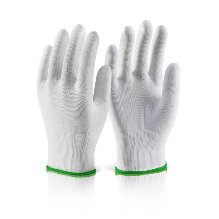 Click2000 Polyester Knitted Liner Glove M White Ref EC11M [Pack 10] Up to 3 Day Leadtime