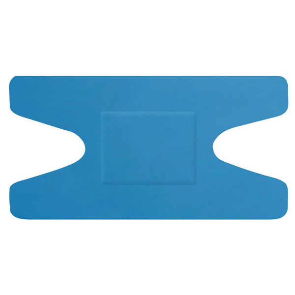 Click Medical Detectable Knuckle Plasters [Pack 50] Blue Ref CM0502 *Up to 3 Day Leadtime*