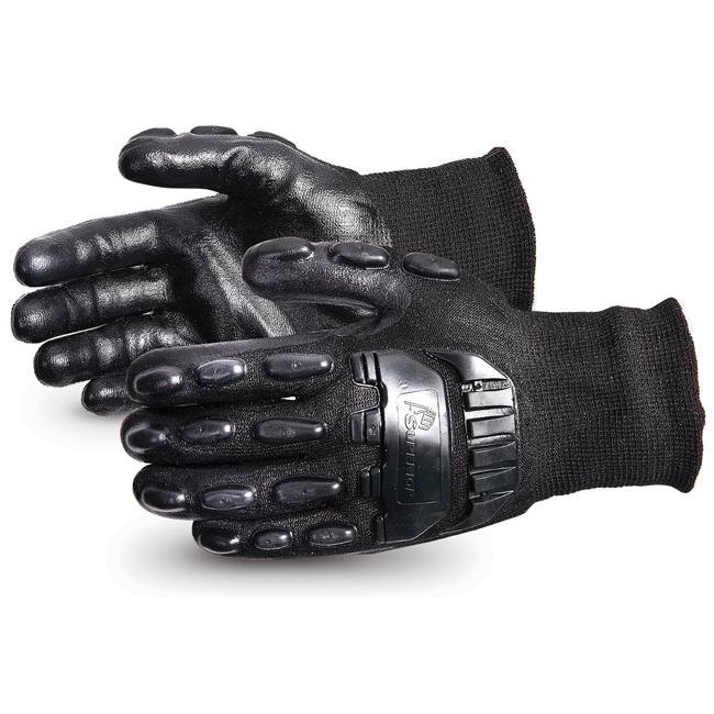 Superior Glove Emerald CX Impact/Cut-Resist Nylon S/Steel M Black Ref SUSKBFNTVBM *Up to 3 Day Leadtime*