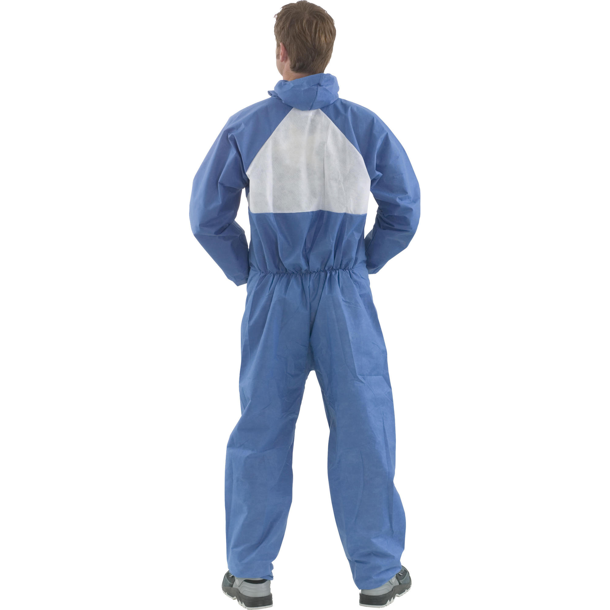 3M 4530 Fire Resistant Coveralls M Blue/White Ref 4530M [Pack 20] *Up to 3 Day Leadtime*