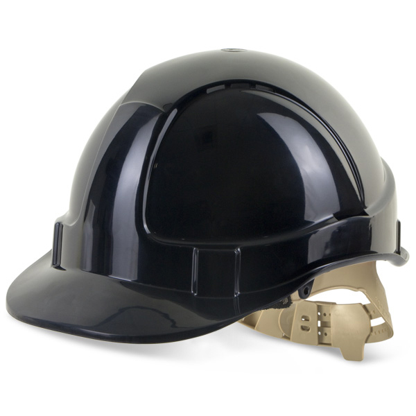B-Brand Comfort Vented Safety Helmet Black Ref BBVSHBL Up to 3 Day Leadtime