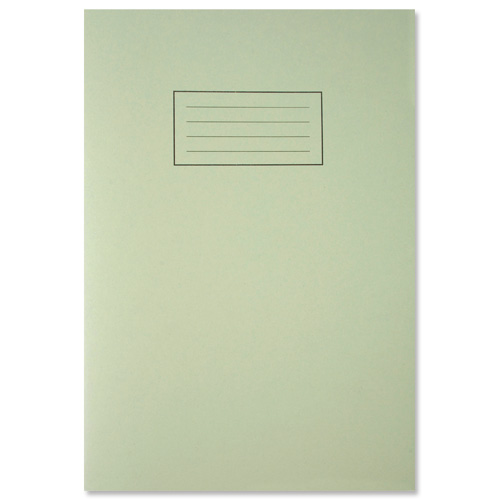 Image for Silvine Exercise Book Ruled and Margin 80 Pages A4 Green Ref EX110 [Pack 10]