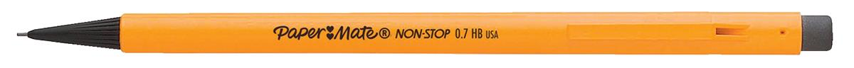 Paper Mate Non-Stop Automatic Pencil 0.7mm HB Lead Yellow Barrel Ref S0189423 [Pack 12]