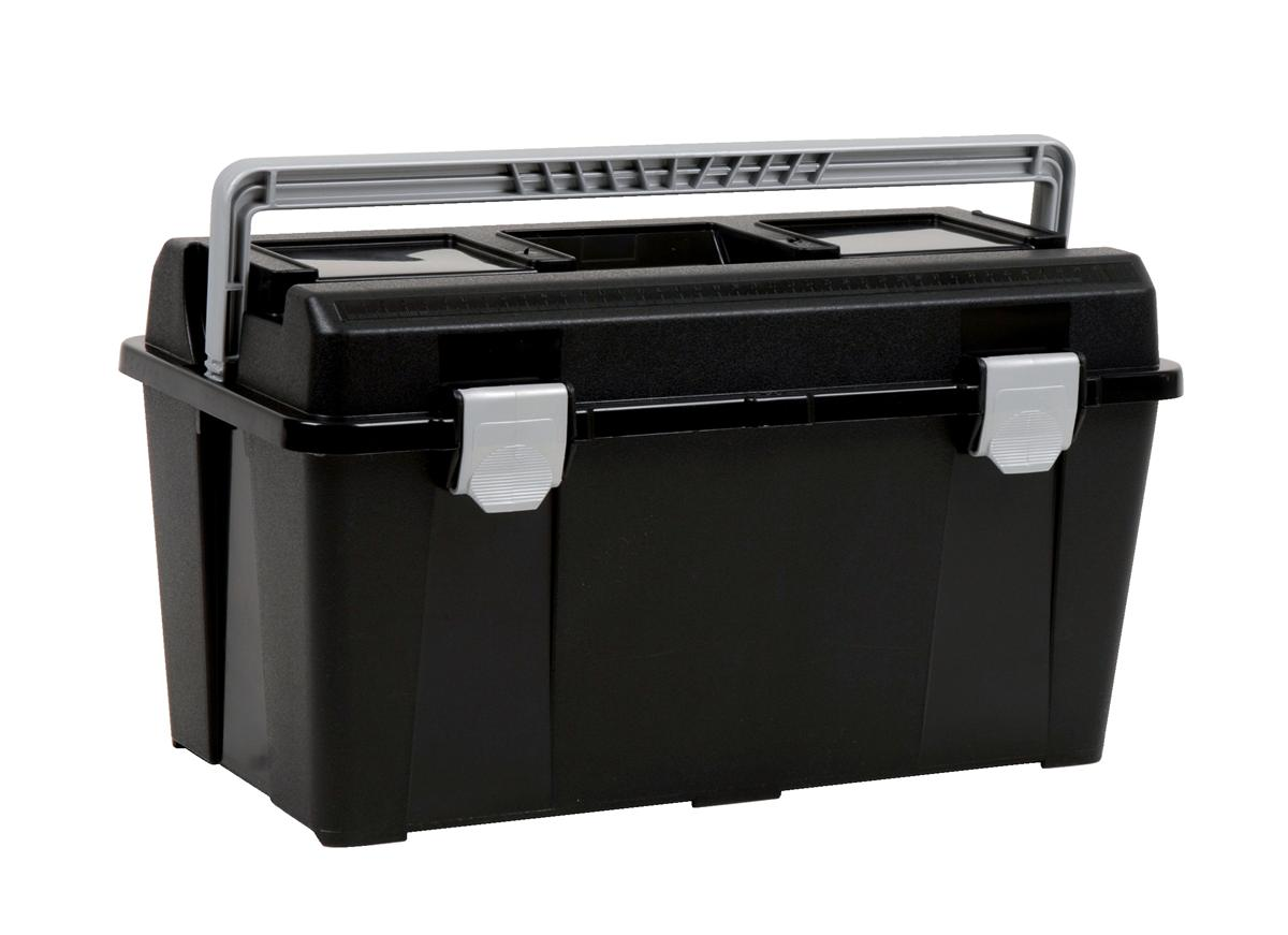 Image for Raaco 19 Inch Toolbox with Removable Tray Black Ref T33 715164