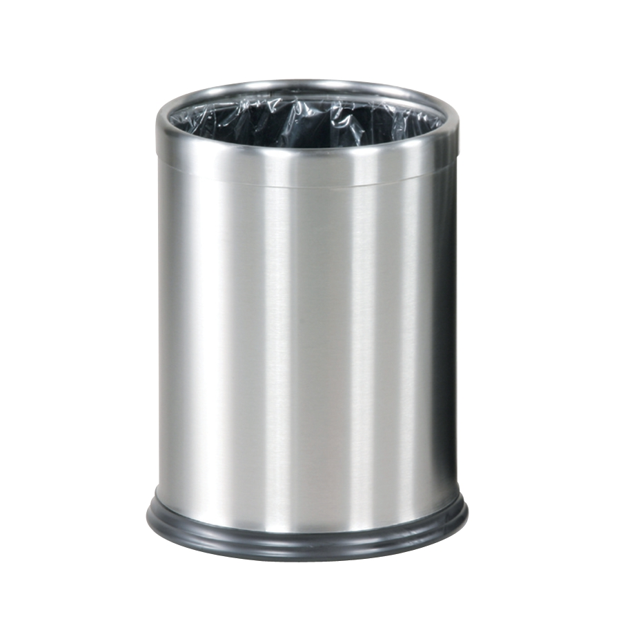 Image for Rubbermaid Bin Hideabag Stainless Steel 13.2 Litres W241xH318mm Ref FGWHB14SS