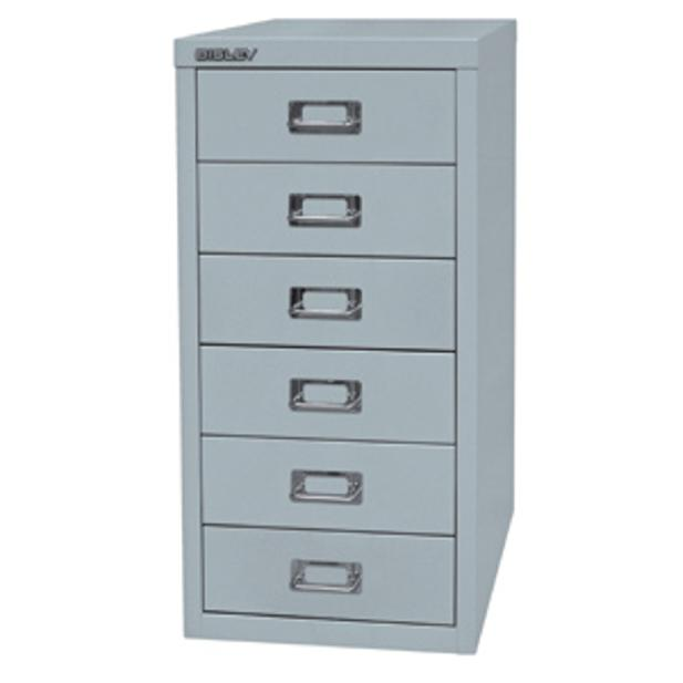 Image for Bisley SoHo Multidrawer Cabinet 6-Drawer H590mm Grey