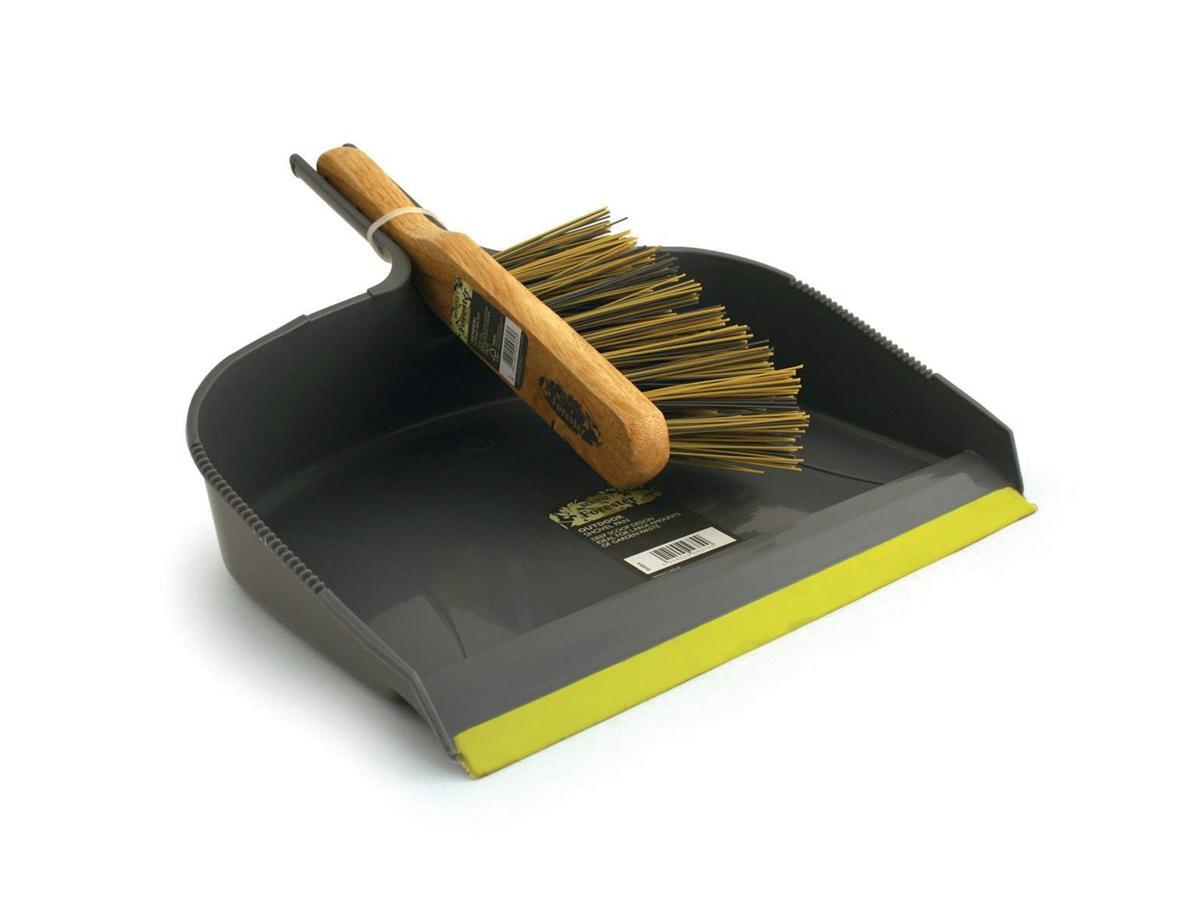Dustpan and Brush Heavy Duty Large