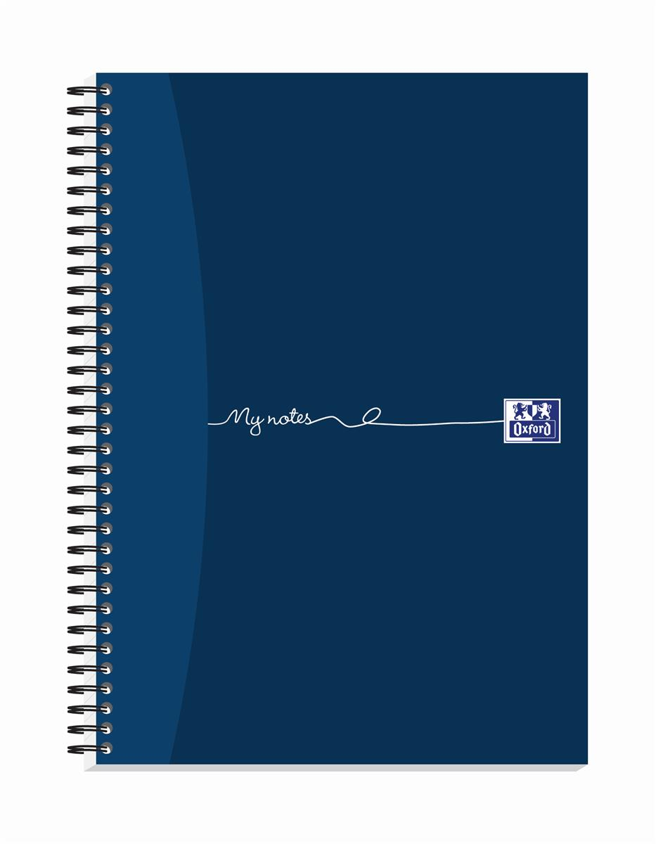 Oxford MyNotes Notebook Wirebound 100 Pages 70gsm A4 Ref 400020193 [Pack 5]