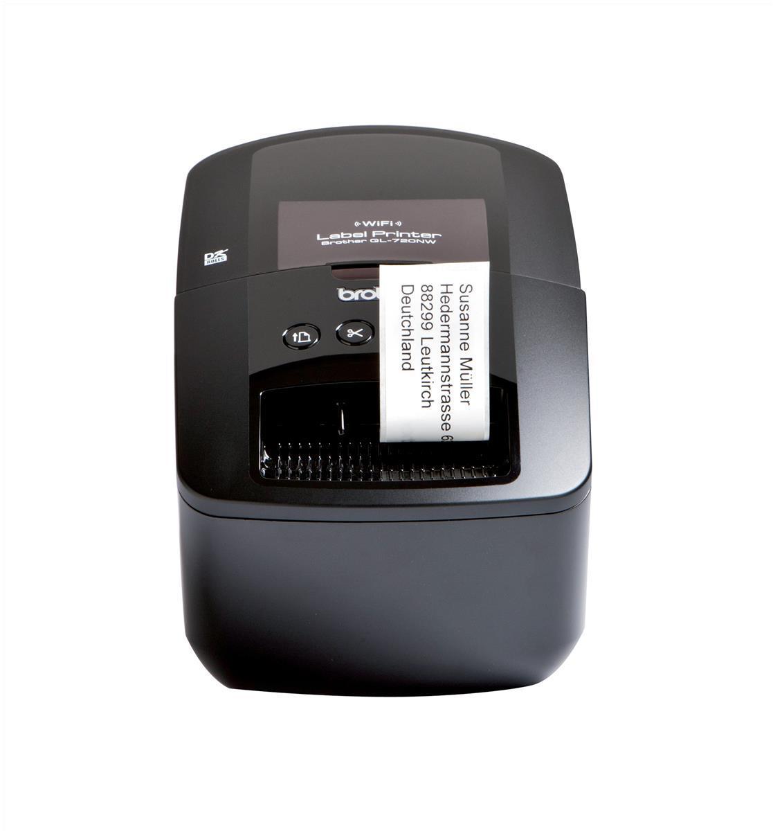Image for Brother Labelmaker Desktop PC Ethernet Wireless DK max. 62mm Ref QL720NWZU1