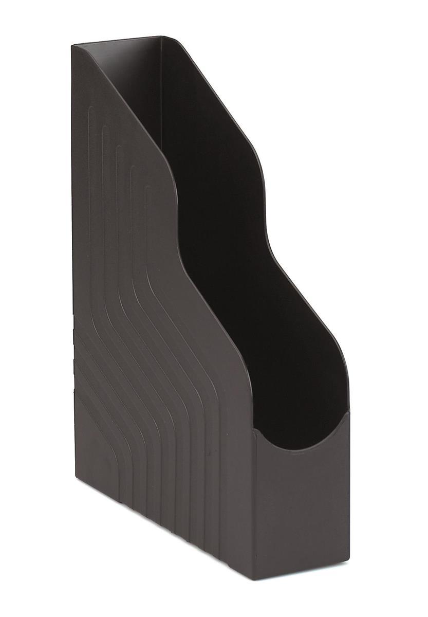 Avery Original Magazine Rack File High-impact Polystyrene A4 Plus Black Ref 440SXBLK [Pack 6]