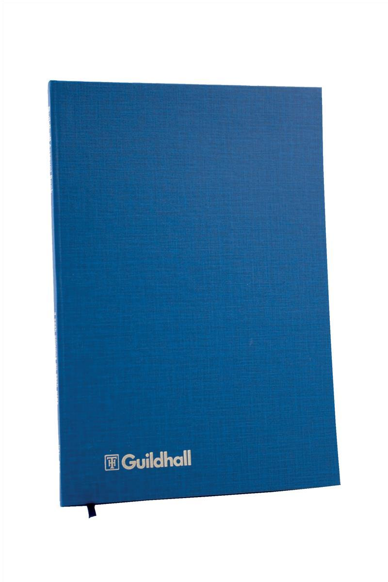 Image for Guildhall Account Book 31 Series 5 Cash Column 80 Pages 298x203mm Ref 31/5Z