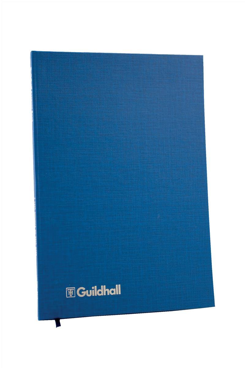 Image for Guildhall Account Book 31 Series 3 Cash Column 80 Pages 298x203mm Ref 31/3Z
