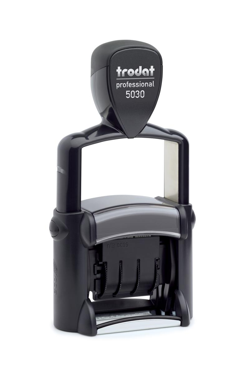 Image for Trodat Professional 5030 Dater Stamp Metal Frame Self-inking 24x4mm Ref 73642