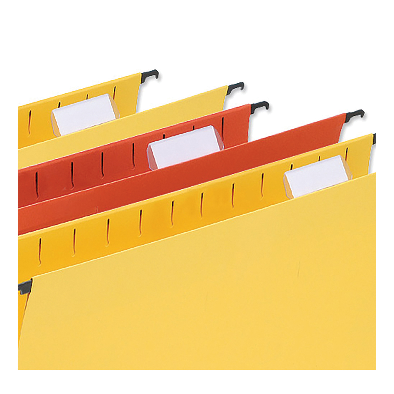 Tabs 5 Star Office Card Inserts for Wrap-around Suspension File Tabs White Pack 56