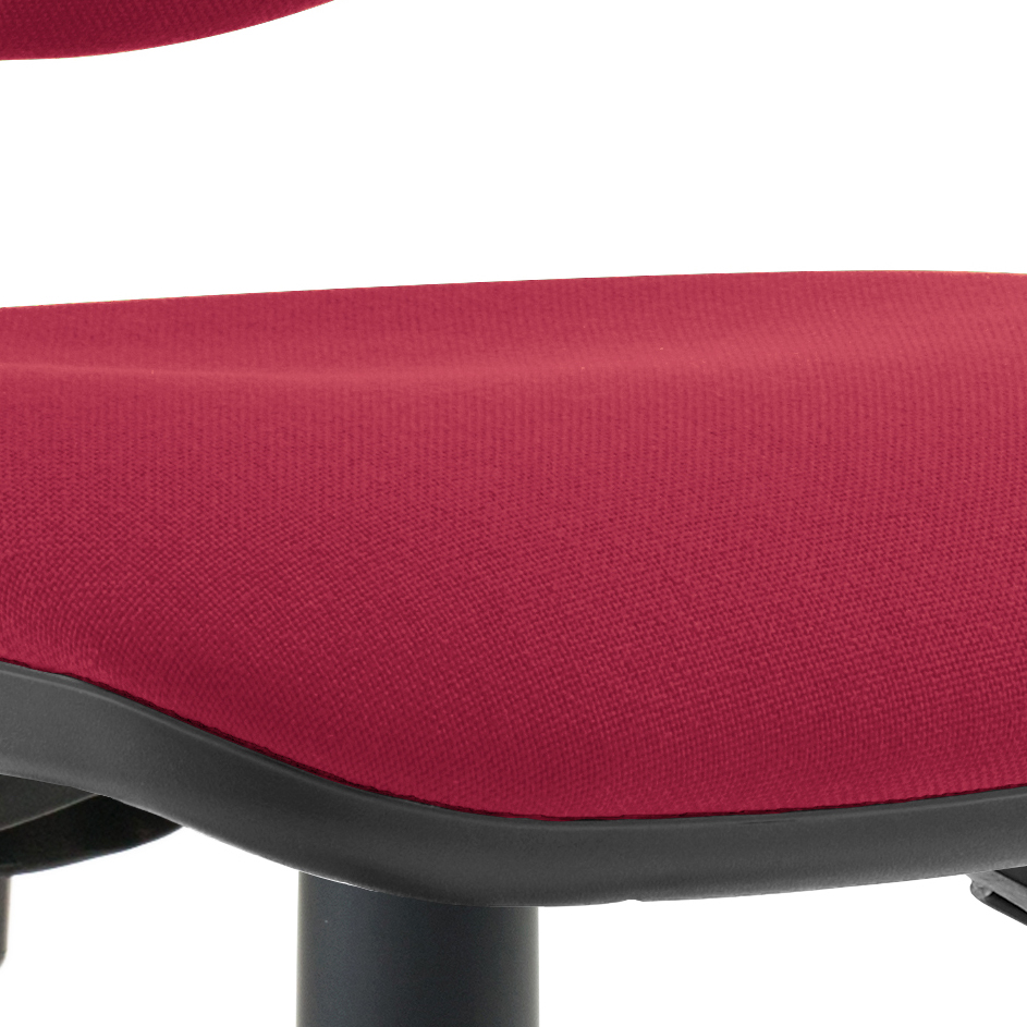 Trexus 3 Lever High Back Asynchronous Chair Red 480x450x490-590mm Ref OP000037