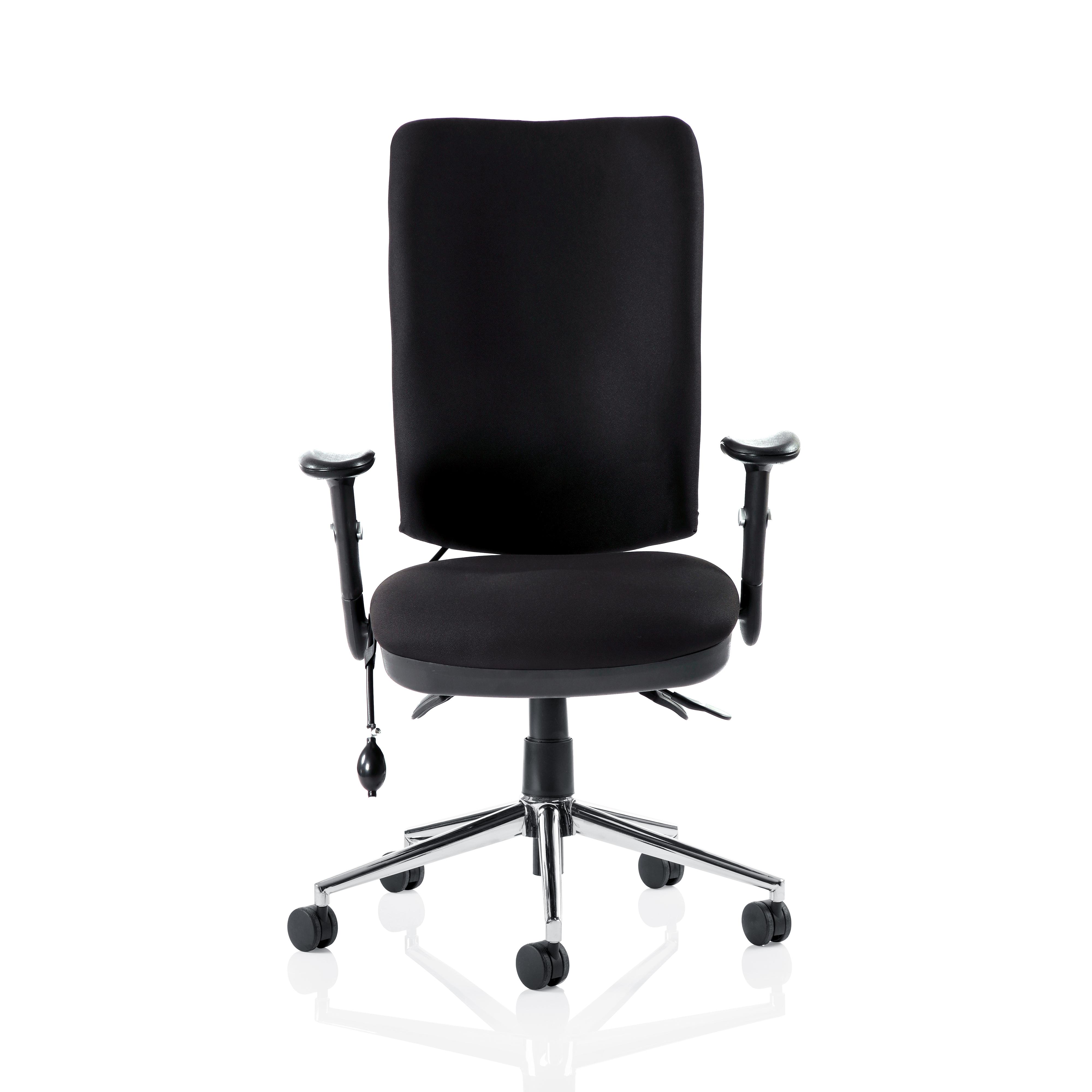 Sonix Support Chiro High Back Chair Black 510x480-540x500-600mm Ref OP000006