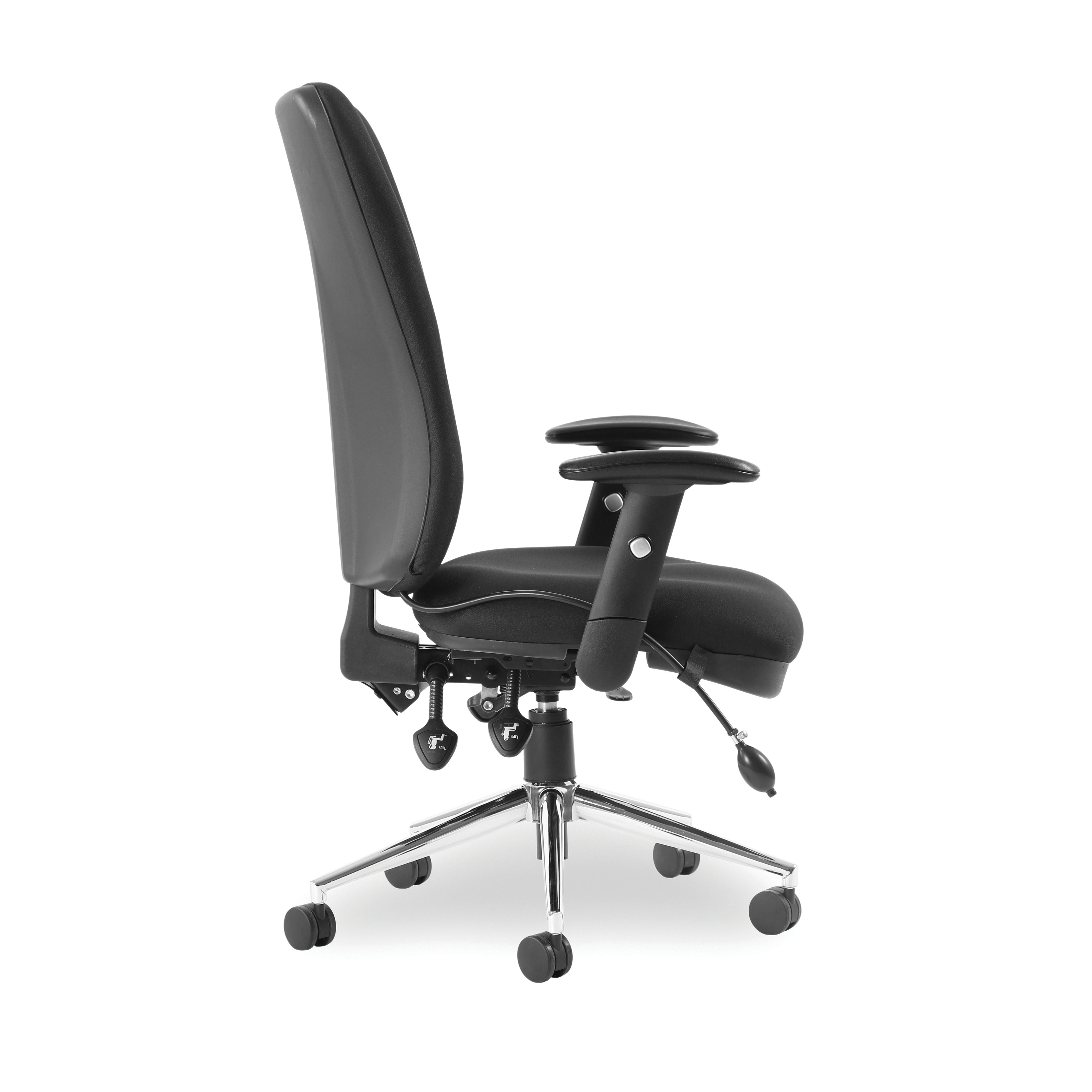 Sonix Support Chiro High Back Chair Black 510x480-540x500-600mm Ref OP000006