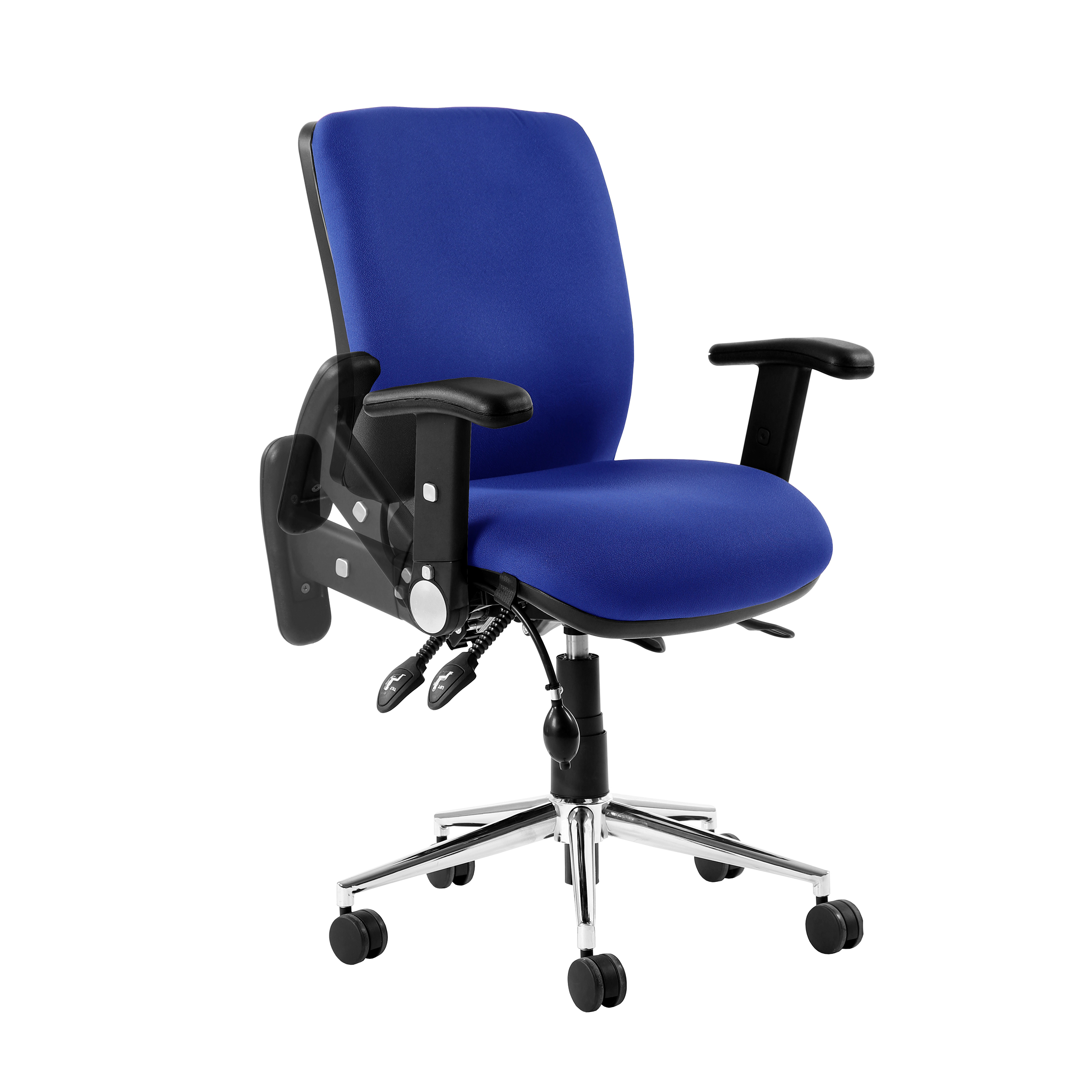 Task seating Sonix Chiro Height Adjustable And Foldaway Arm Ref AC000001